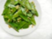 CISNO sous vide snow peas recipe