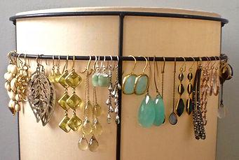 jewelry storage and organization