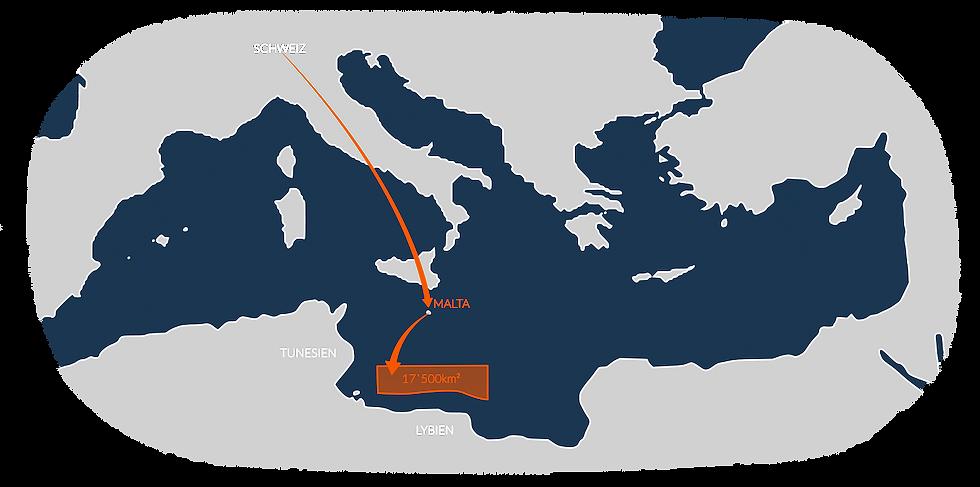 Karte Mittelmeer