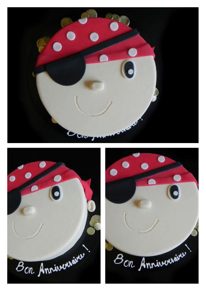Gâteau à thème Pirate