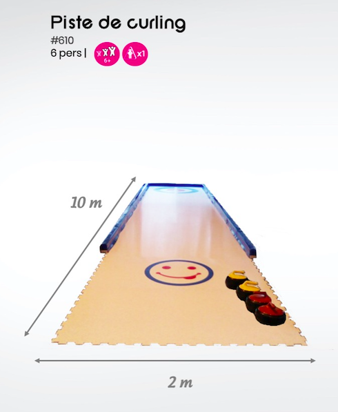 #610 Piste de curling