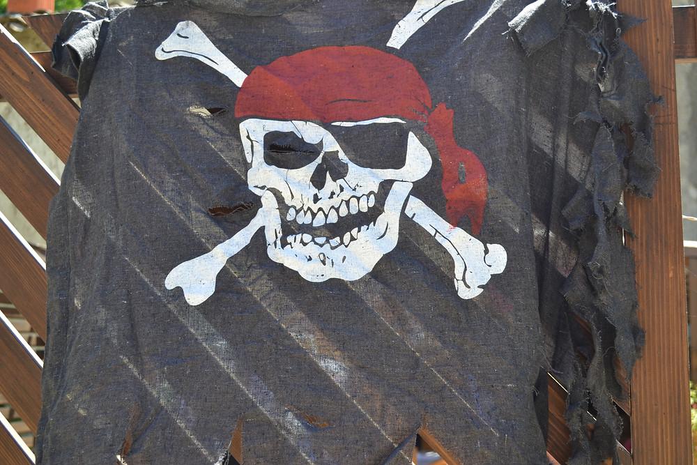 Décoration goûter d'anniversaire pirate