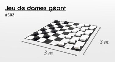 502 jeu de dames