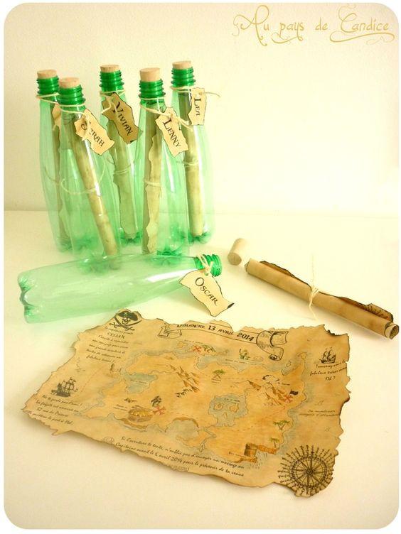 Glisser les invitations dans une bouteille découvrez toutes les informations sur le blog de candice