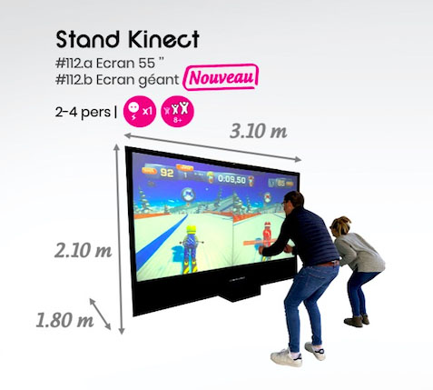 #112 Stand kinect