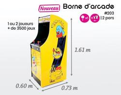 #203 borne d'arcade