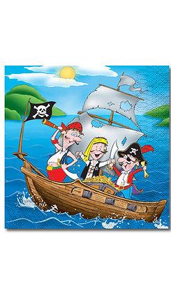 Serviettes Petit Pirate