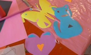 Atelier creation stickers enfants