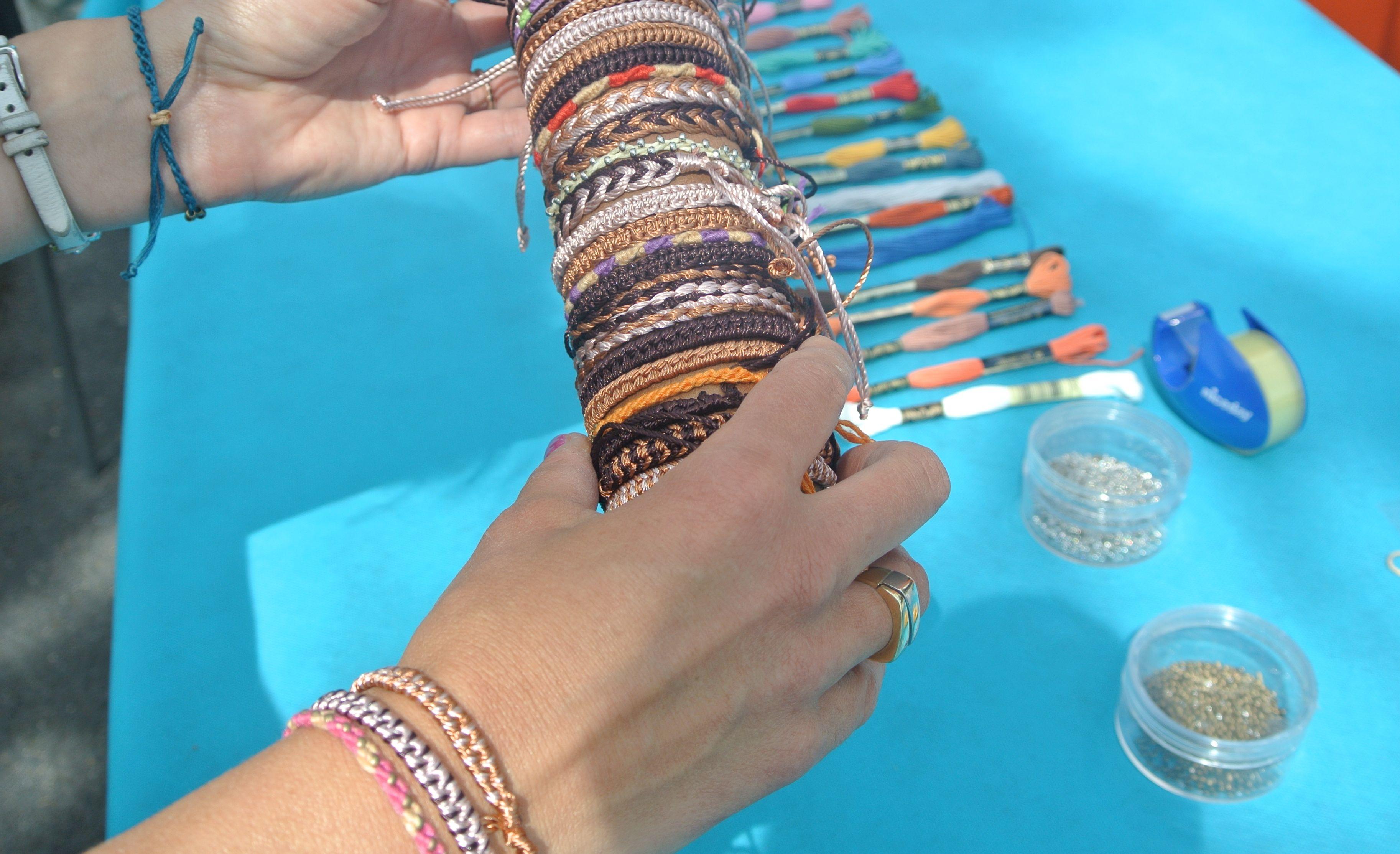 Atelier bracelets bresiliens