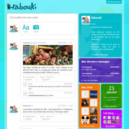 Habouki : enfin un réseau social pour enfants sécurisé et pédagogique !