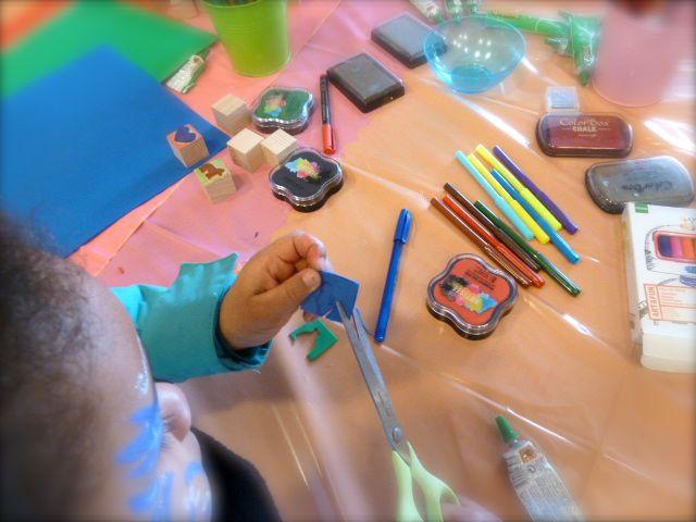 Atelier créatif, parfum, adulte, enfant