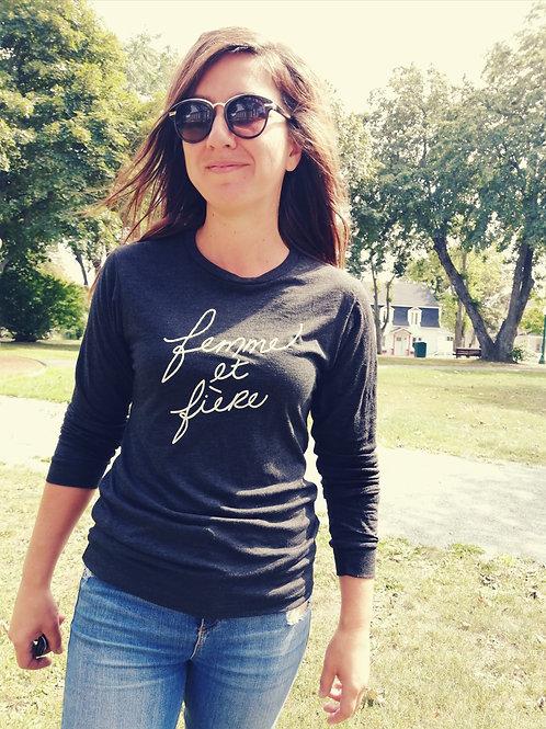 T-Shirt long FEMMEetFIÈRE