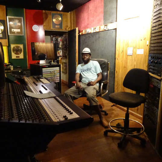 Amen Viana - Tuff Gong studio, Kingston