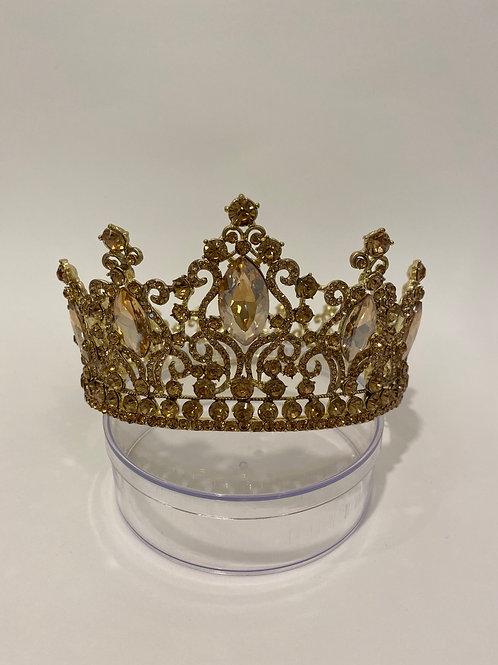 Gold FULL Circle Crown
