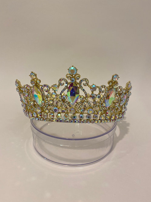 Gold iridescent FULL Crown