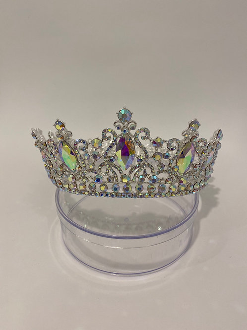 Silver iridescent FULL Crown