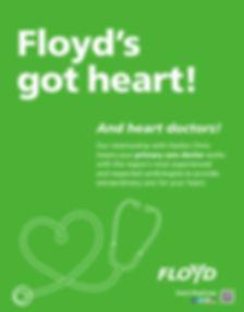 Floyd's got heart