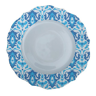 Patterned Plate 8