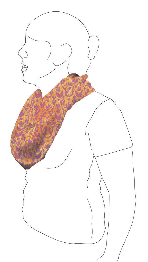 Scarf 5: Side view