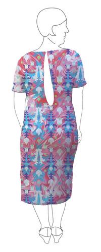 Dress 5: Back view