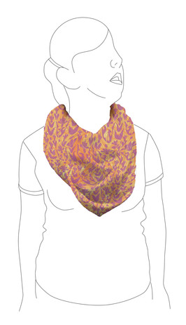 Scarf 5: Front view