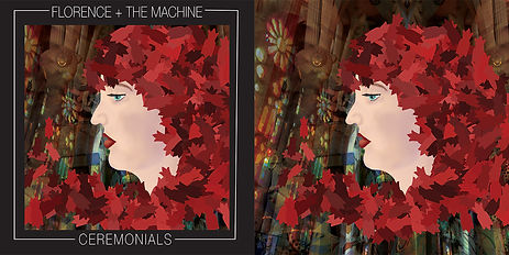 Florence + The Machine: Ceremonials Cover