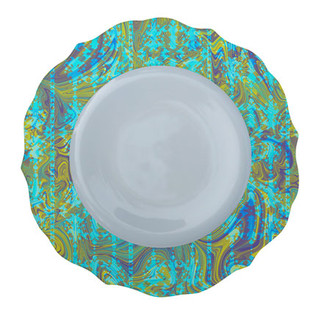 Patterned Plate 6