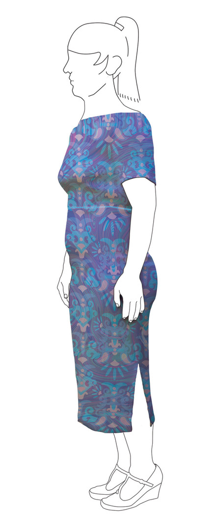 Dress 7: Side view