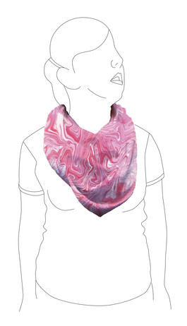 Scarf 4: Front view