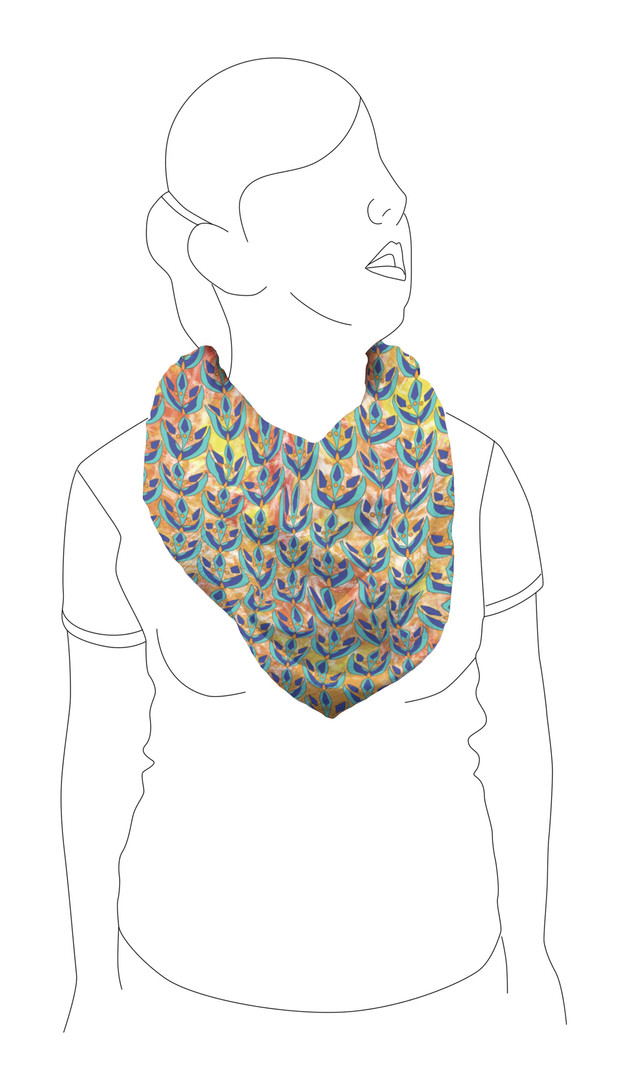 Scarf 3: Front view