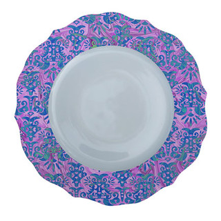 Patterned Plate 5