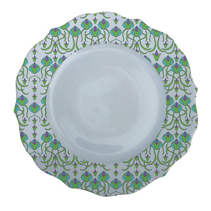 Patterned Plate 4