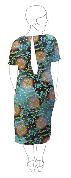 Dress 3: Back view