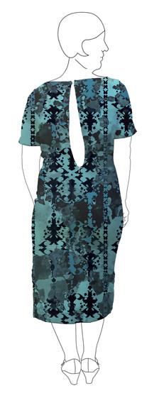 Dress 6: Back view