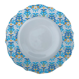 Patterned Plate 2