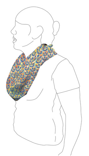 Scarf 3: Side view