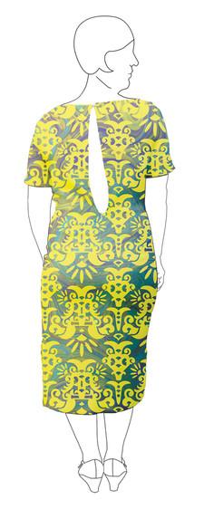 Dress 2: Back view