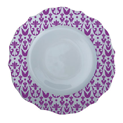 Patterned Plate 7