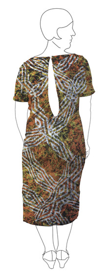 Dress 4: Back view