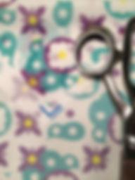 Chiffon fabric sample