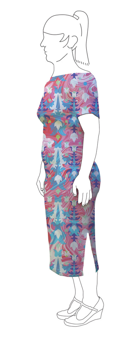 Dress 5: Side view