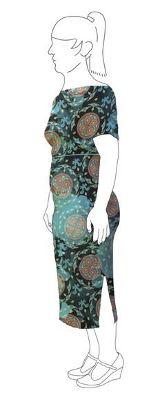 Dress 3: Side view