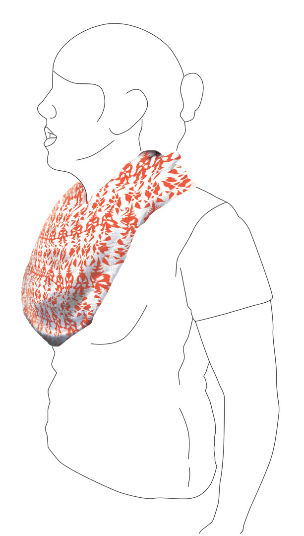 Scarf 2: Side view