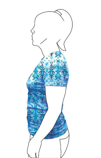 Shirt Illustration 3- Side