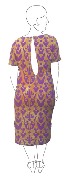 Dress 1: Back view