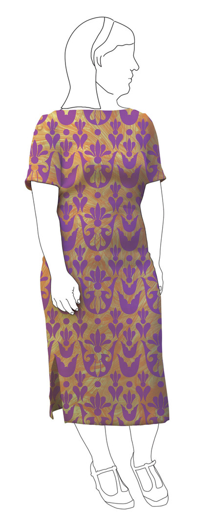 Dress 1: Front view