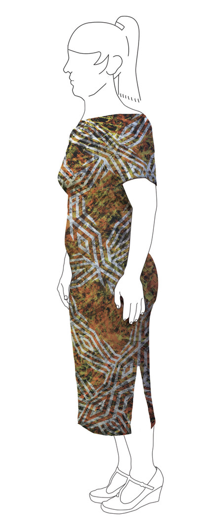 Dress 4: Side view