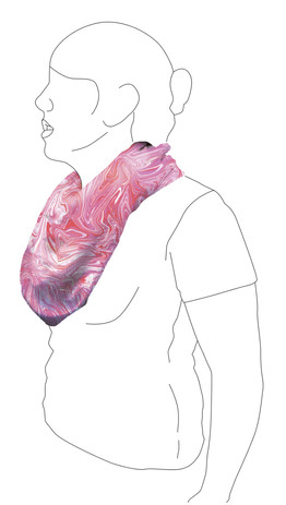 Scarf 4: Side view