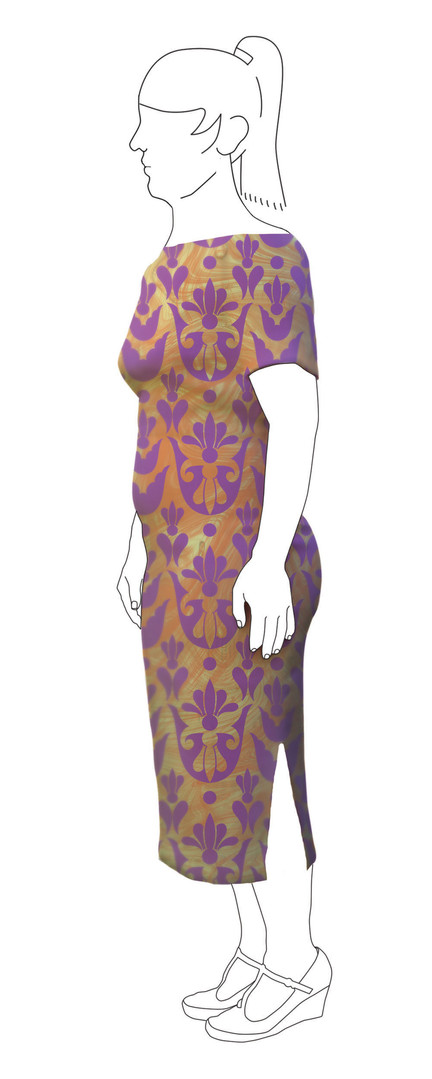 Dress 1: Side view
