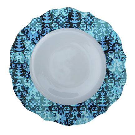 Patterned Plate 1
